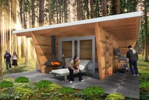 bunkie lodge wanderhut kabine gastehaus office relaxraum fitness stauraum bar sport studie studierzimmer ferienhaus sauna 1 (Small)