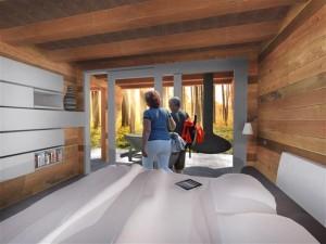 bunkie lodge wanderhut kabine gastehaus office relaxraum fitness stauraum bar sport studie studierzimmer ferienhaus sauna 2 (Small)