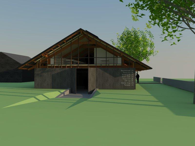 Atelier 007 Architetuur Bouwkunde Ontwerp De Worse Markelo Werkgebouw Duurzaam Ecologisch Transparant_027