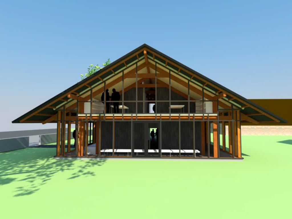 Atelier007-werkgebouw-twente-buitengebied-rood-voor-rood-bestemmingsplan-hout-spant-kap-transparant-bouw-001