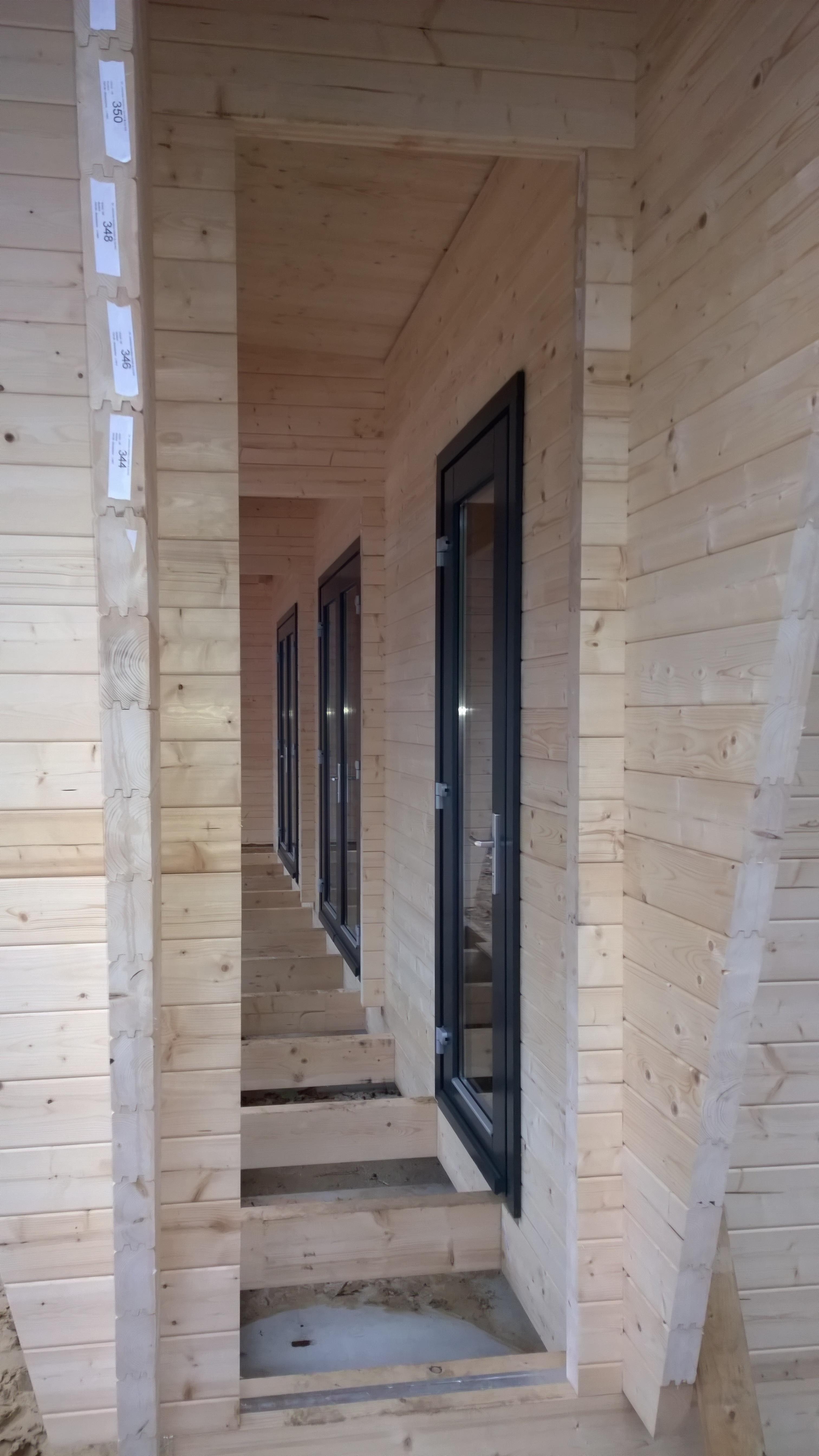 Recreatieverblijf in uitvoering atelier 007 - Overdekt terras in hout ...