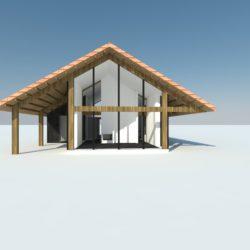 Atelier007 Schuurwoning woonschuur wonen in een schuur 002