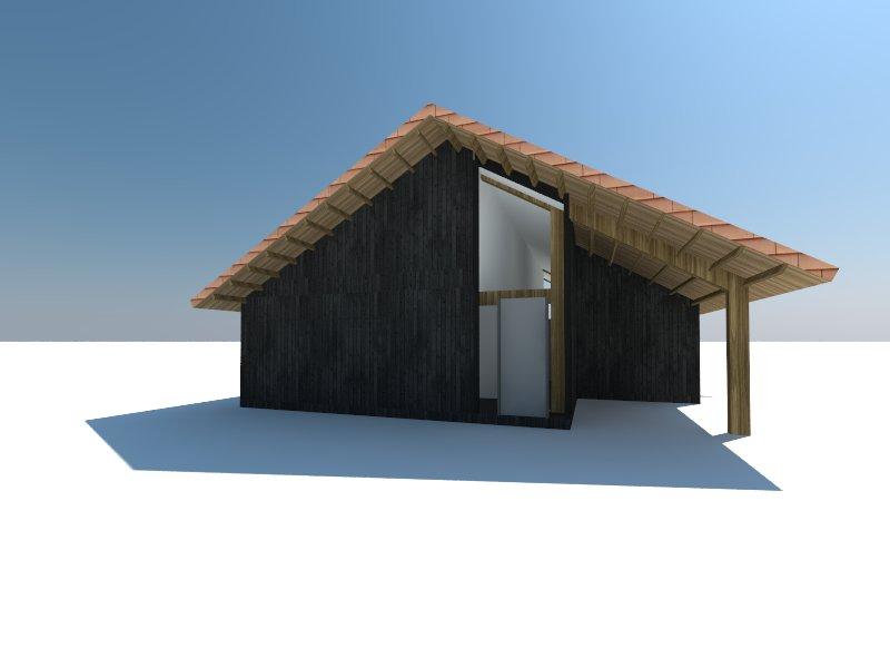 Atelier007 Schuurwoning woonschuur wonen in een schuur 001